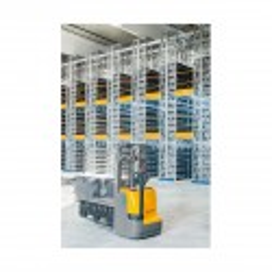 Transpalet electric cu catarg duplex EJC M13ZT Jungheinrich, înălțime ridicare 2900mm