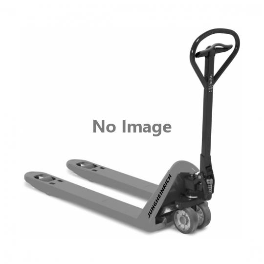 Hand pallet truck Ameise®, 2000kg, fork 1150x540mm, rubber steering wheels, polyurethane single load wheels C/GV